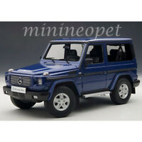 AUTOart 76114 1998 MERCEDES BENZ G 500 CLASS SWB 1/18 MODEL CAR BLUE