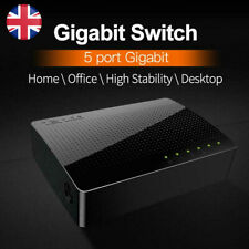 Tenda SG105 Gigabit Network Switch 1000Mbps Unmanaged Ethernet Hub Switch 5 Port