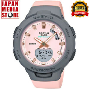 CASIO BABY-G BSA-B100MC-4AJF G-SQUAD Misty Pastel Colors Limited Women Watch