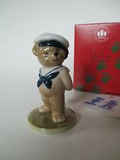 Victor Teddy Bear Figurine 1997- B&G/ Bing & Grondahl- Sailor Cap & Tie-Box-Mint