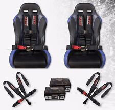 2 x STV Motorsports Universal 5 Point Quick Release Racing Seat Belt Harness