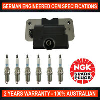 6x Genuine NGK Spark Plugs & Ignition Coil for Nissan Pathfinder R50