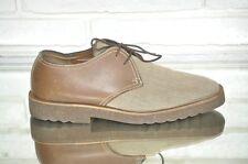 Men's shoes PHILIPPE MODEL 8 (EU 42)  Brown Leather Lace Up Oxford Dress Shoe