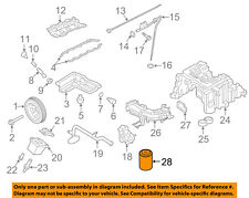 NISSAN OEM 16-18 Titan XD-Engine Oil Filter 15208EZ40A