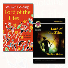 Lord of the Flies Collection 2 Books Set Pack GCSE English Text Guide NEW