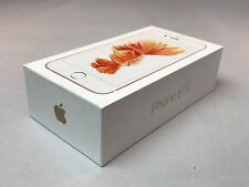 Apple iPhone 6s -Rose Gold - Empty Retail Box With Accessories