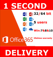 INSTANT DELIVERY Microsoft Office 365 2016 2019 Pro Key PC/Mac 5TB User Lifetime