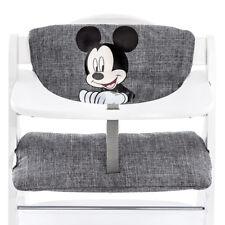Hauck Hochstuhlauflage & Sitzverkleinerer - Disney Deluxe - Mickey Mouse Grey