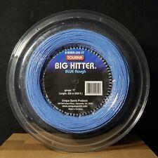 TOURNA Big Hitter Blue Rough 17 Gauge Tennis String *Open Reel*