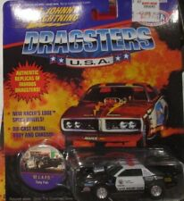 JOHNNY LIGHTNING DRAGSTERS '92 L.A.P.D. CAMARO 1992 CHEVY 1995 PRO STOCK 1:64