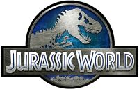 JURASSIC World Decal Vinyl Wall Logo Jeep Safari Dinosaur Park 4 Stickers