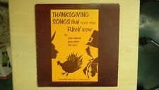 THANKSGIVING SONGS that Tickle Your FUNNNY BONE Michael Brent Publ Record LP1975