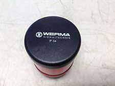 Werma Signaltechnik 840 080 00 Red Stack Light w/ LED 84008000 258.644.001AB