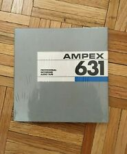 "VINTAGE NEW 1/4 "" AMPEX 631 PROFESSIONAL AUDIO RECORDING TAPE"