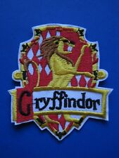 HARRY POTTER ** Hogwarts House GRYFFINDOR **  PATCH -- Crest Badge