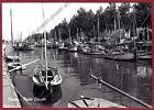 RAVENNA CERVIA 68 BARCHE - PORTO CANALE Cartolina FOTOGRAFICA