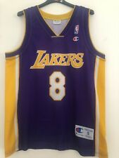 Maillot Rookie NBA Champion Los Angeles Lakers Kobe Bryant Taille S #8