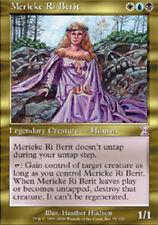 Timeshifted Merieke Ri Berit - Foil x1 Moderate Play, English Magic Mtg M:tG