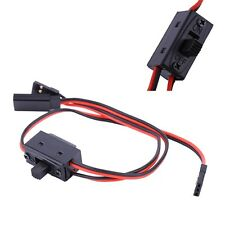 3 Way Power On/Off Switch With JR Receiver Cord For RC Boat Car Flight