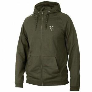 Fox Collection Green & Silver Lightweight Hoodie