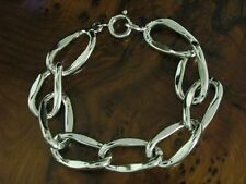 835 Silver Bracelet/Real Silver/34,4g/18,6 CM