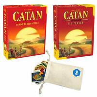 Catan 5th Edition Board Game with Catan 5-6 Player Extension Bundle