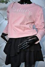 damen Baumwolle 2 teiler Rock + Sweatshirt Baumwolle Set