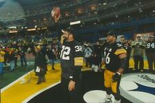 FRANCO HARRIS JEROME BETTIS STEELERS H.O.FERS LAST GAME 3- RIVERS 12/16/00 8X10