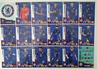 2020/21 PANINI Adrenalyn EPL Soccer Cards - Chelsea Team Set (18 cards)