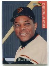 2000 Topps HD Images of Excellence Aluminum 1 Willie Mays