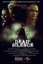 DEAD SILENCE Movie POSTER 27x40 C Donnie Wahlberg Amber Valletta Bob Gunton Ryan