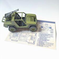 Gi Joe VAMP 1984 with cannon & blueprint ARAH