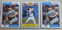 2020 Topps Archives DUSTIN MAY 1974 & 2020 Rookie Base Card RC #141 (Lot Of 3)