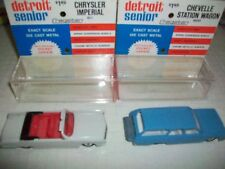 Chrysler Imperial & Chevy Impala Estate, Sabra Gamda-Koor Boxed Vinatge Models.