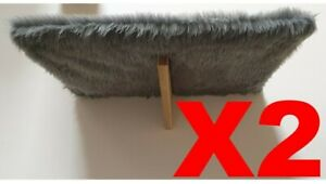 X2 | Strong cat wall shelves for big cats like Maine Coons