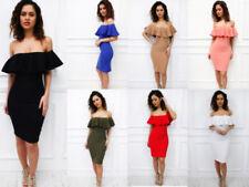 Summer/Beach Off Shoulder/Bardot Party Dresses for Women