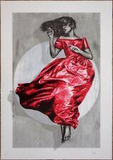 Snik Serenity LE 75 15-Color Screen Print Art Poster Dolk Banksy Brainwash