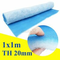 1x1m Booth Air Filter Material Paint Shop Car Spray Atomize Thickness 20mm  .