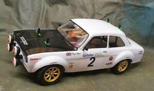 Ford Escort Mk 1 LEXAN DECAL 257 Rally Cross Touring Car body Kamtec Drift 1:10