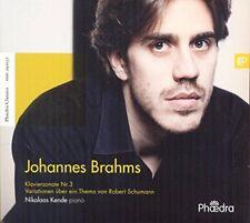 Nikolaas Kende - Johannes Brahms Klaviersonate No 3 [CD]