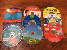 Mixed Lot 9 Reader Rabbit Broderbund Disney Kids Learning Fun Software Discs Cds