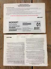 Microsoft Windows Vista Business mit SP1 Englisch, OEM 64bit mit MwSt-Rechnung