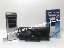 New Hitachi RM-1500UD Rechargeable Shaver Dual Voltage 120V/240V Worldwide Use