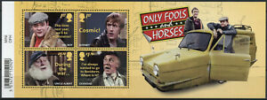 GB Stamps 2021 MNH Only Fools & Horses TV Series Del Boy Rodney 4v M/S
