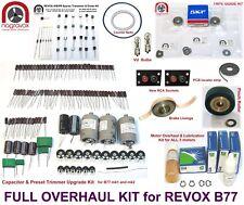 Revox B77 full overhaul kit electronics and mechanical - FULL MONTY