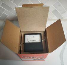 SIMPSON 17670 Analog Panel Meter NEW IN BOX