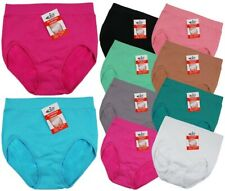 New Women's 6 Pack STV Seamless Slimming Bum Tum Control Shaping Knickers Briefs