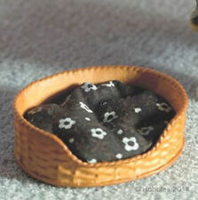 Miniatura Cane Letto e Materasso 12A scala per case di bambole ecc 3964