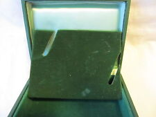 Original Vintage Rolex Green Triangle box coffin * * 50/60's extremely rare