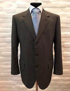 BRIONI Parigi Men's Suit Wool/Silk Size 56 Made in Italy!